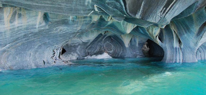 Lago general carrera capillas de marmol mto tour chile for Precio marmol chile